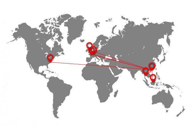 Export Location Map
